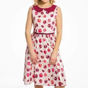 Lindy Bop Molly Anne Pomegranate Dress
